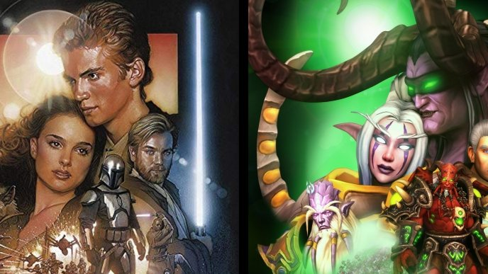Jogador recria pôster de Star Wars com personagens de World of Warcraft