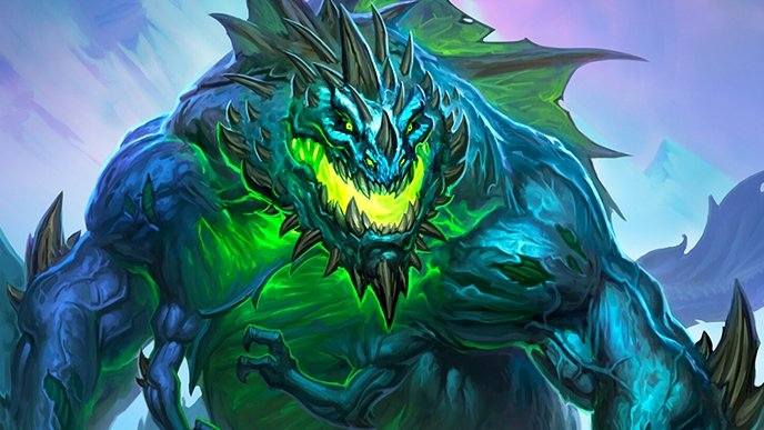 Decks do Meta de Hearthstone - Bruxo Zoo Galakrond 2.0 (Padrão)