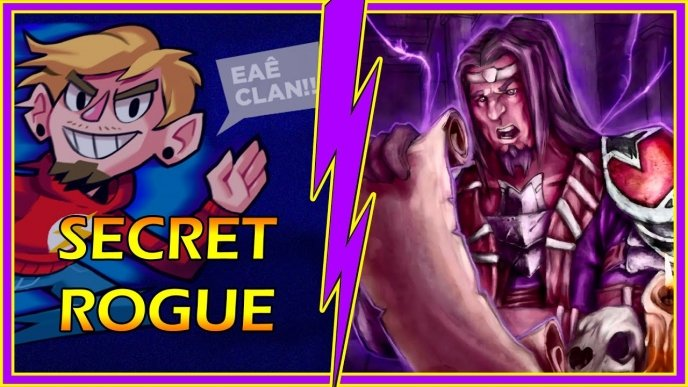 Deck da comunidade com Gameplay: Secret Rogue (Ladino, com vídeo do Nightmare)