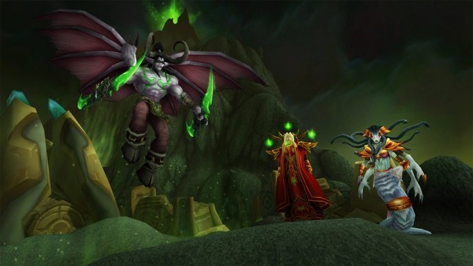 BlizzConline - World of Warcraft: Burning Crusade terá servidores clássicos
