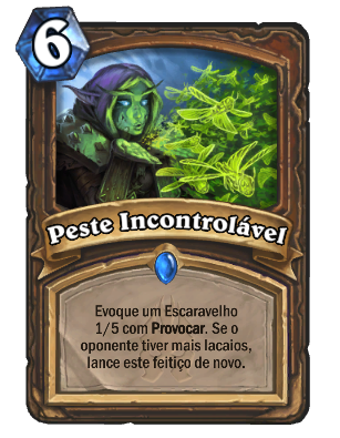 Card - Peste Incontrolável