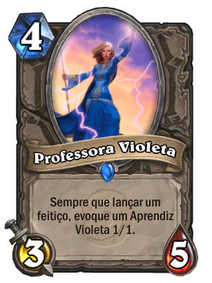Card - Professora Violeta
