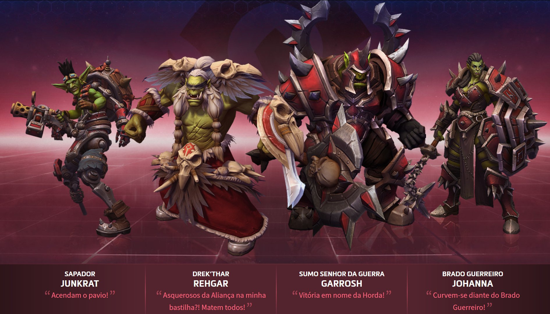 Heroes of The Storm - Evento com Personagens da Horda
