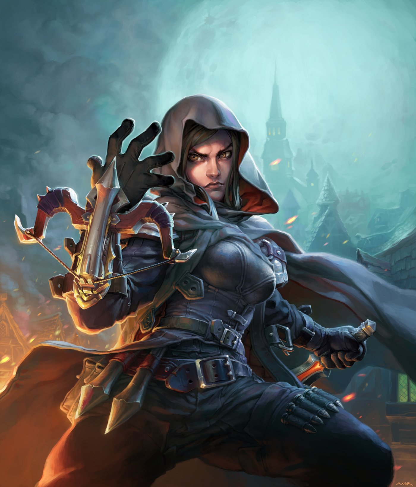 Tess Greymane - Arte Completa do Card