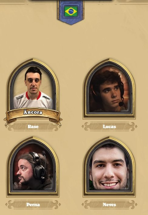 Time do Brasil no Hearthstone Global Games
