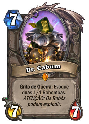 Dr Cabum Card