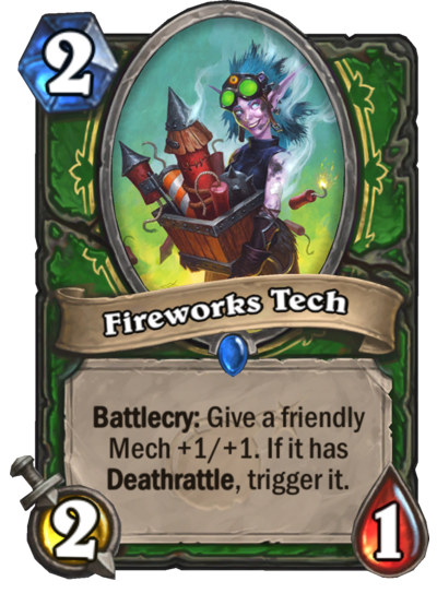 Fireworks Tech Card