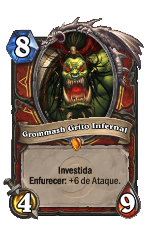 Grommash Grito Infernal - Card