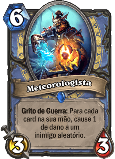 Meteorologista Card