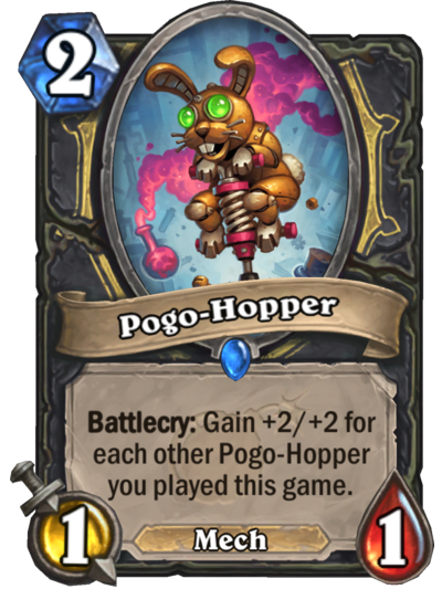 Pogo-Hopper Card