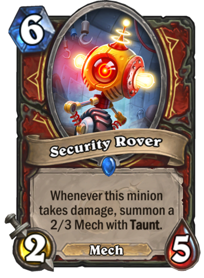 Security Rover Card