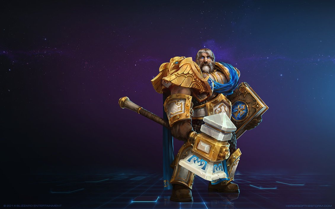 Uther em Heroes of the Storm