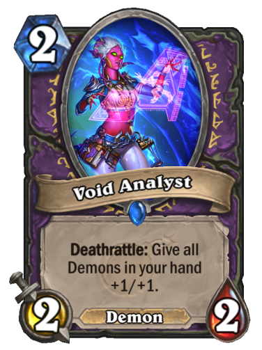 Void Analyst Card