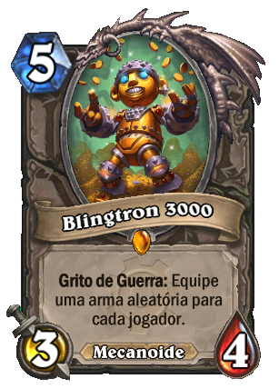 Blingtron 3000 Card