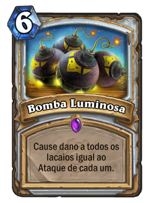 Bomba Luminosa Card