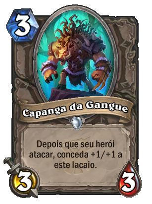 Capanga da Gangue Card