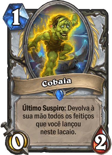 Cobaia Card
