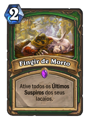 Fingir de Morto Card