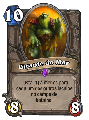 Gigante do Mar Card