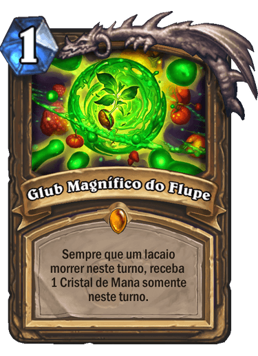 Glub Magnífico do Flupe Card