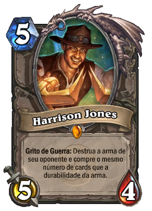 Harrison Jones Card