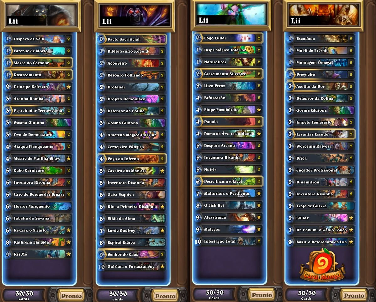 Listas HCT Buenos Aires - Lii