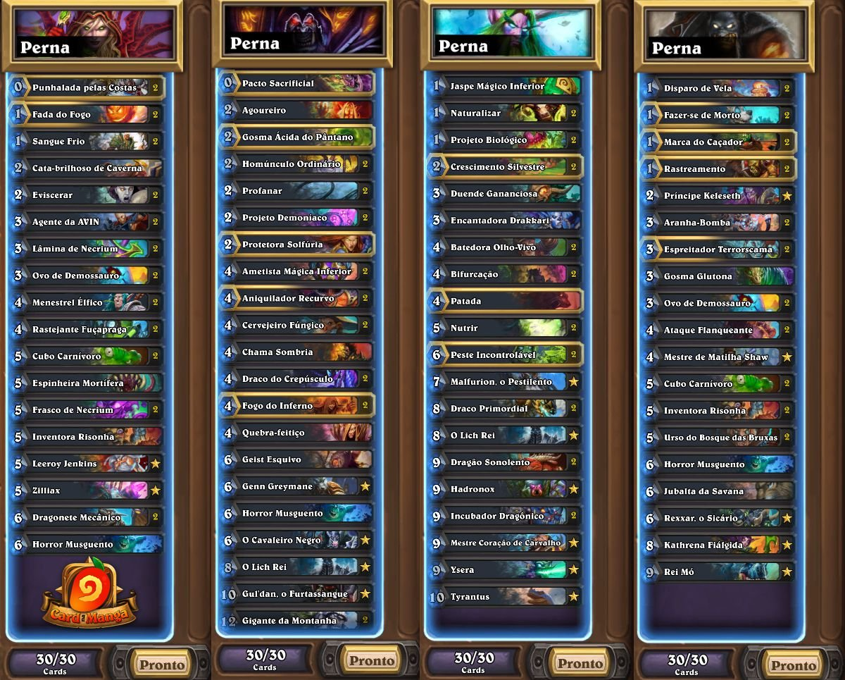 Listas HCT Buenos Aires - Perna
