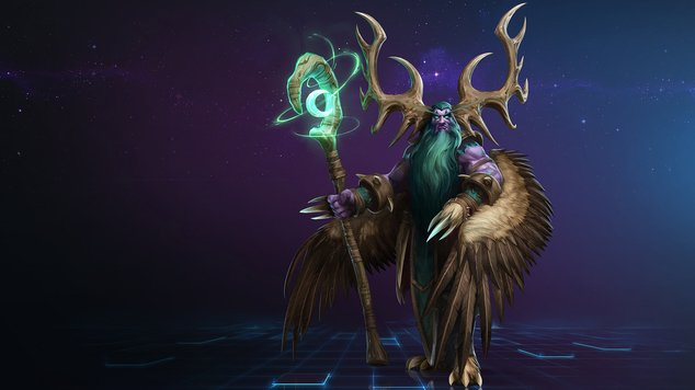 Malfurion em Heroes of The Storm