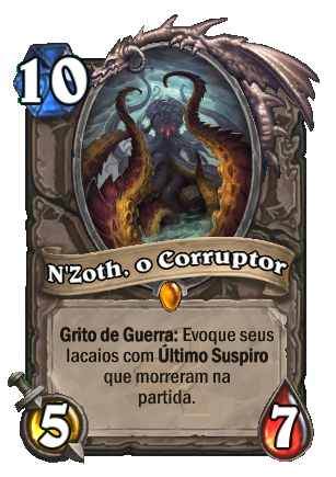 Nzoth Card PTBR