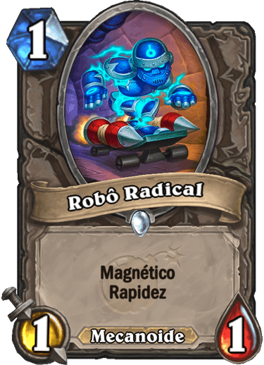 Robô Radical Card
