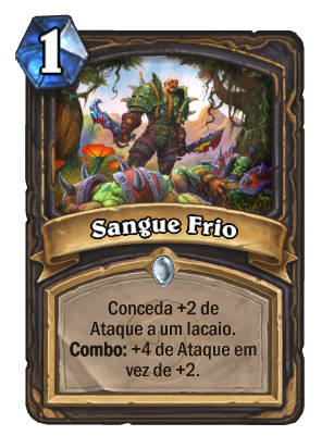 Sangue Frio Card