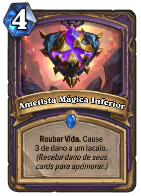 Ametista Mágica Inferior Card