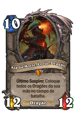 Asa da Morte - Lorde Dragão Card