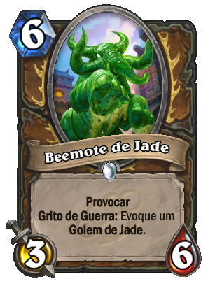 Beemote de Jade Card