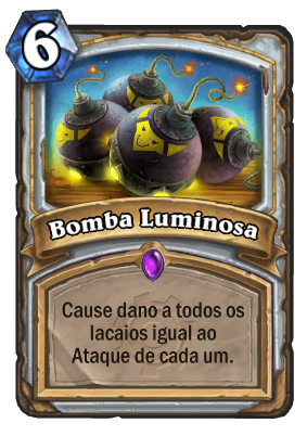 Bomba Luminosa Card PTBR