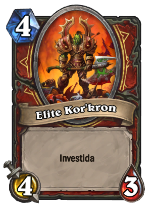 Elite Korkron Card
