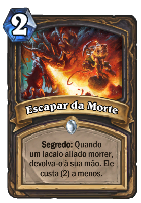Escapar da Morte Card