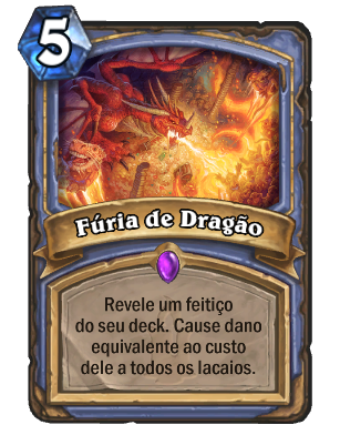 Furia de Dragão Card