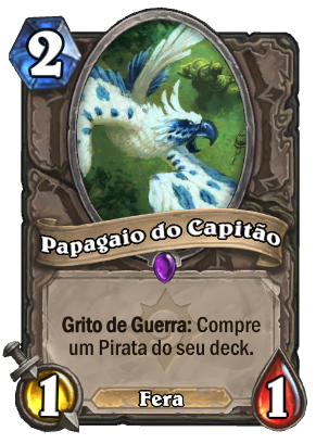 Papagaio do Capitão Card