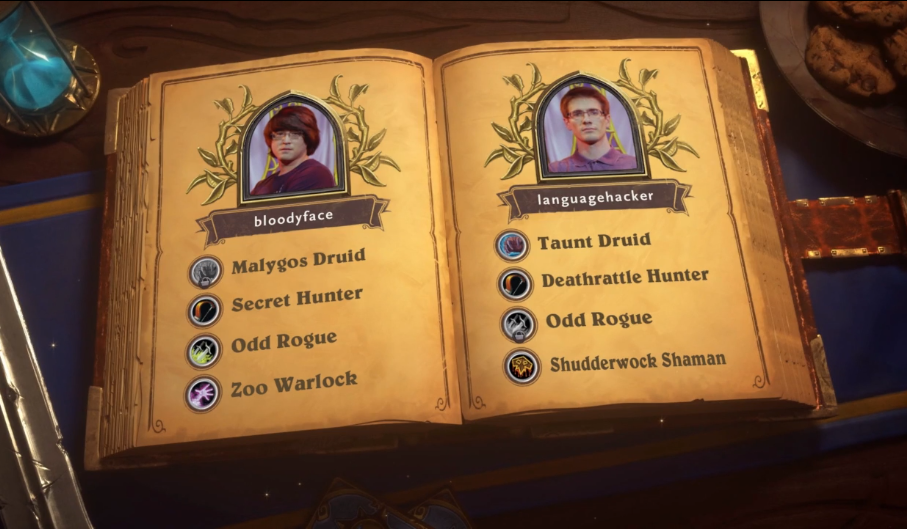 Decks da Final entre Languagehacker e bloodyface