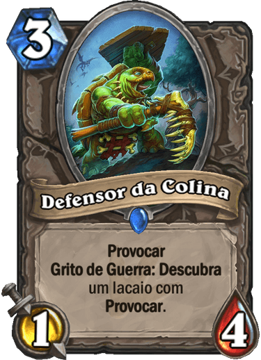 Defensor da Colina Card