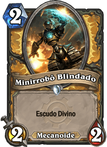 Minirrobô Blindado Card