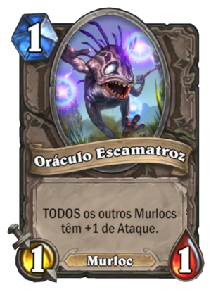 Oráculo Escamatroz Card