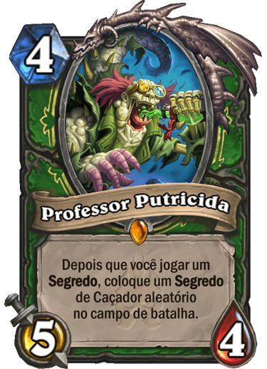 Professor Putricida Card