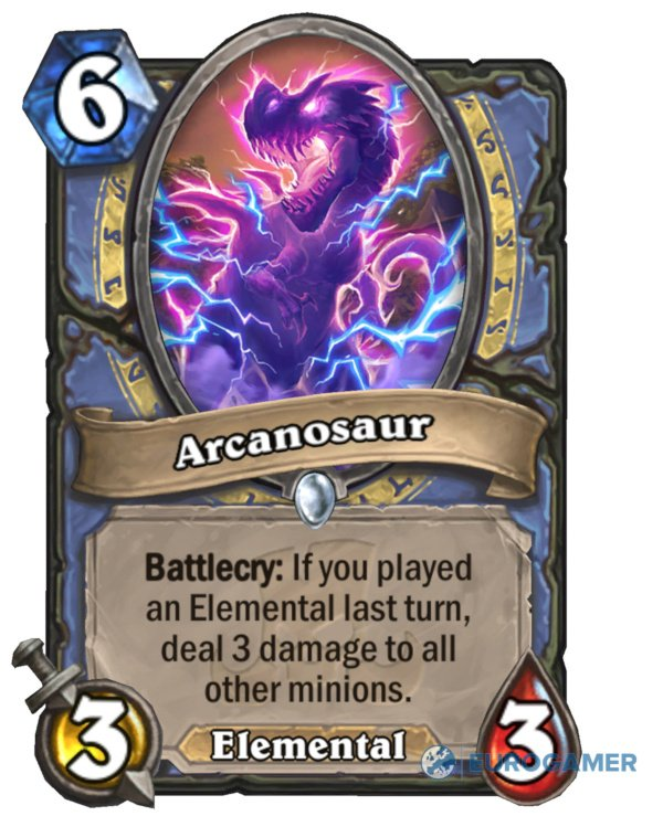 Arcanosaur Card Reveal Eurogamer