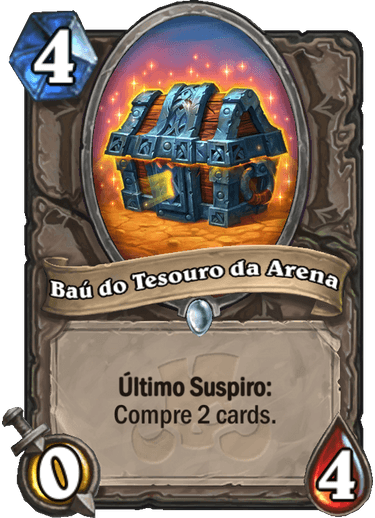 Baú do Tesouro da Arena Card PTBR