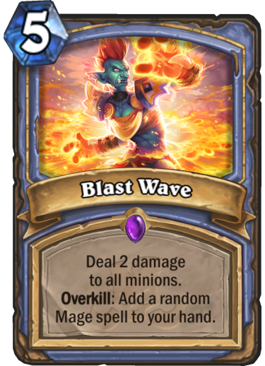 Blast Wave Card Reveal
