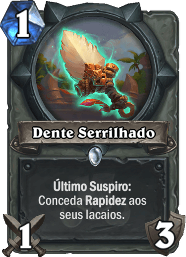 Dente Serrilhado Card PTBR