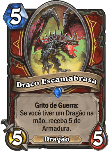 Draco Escamabrasa Card