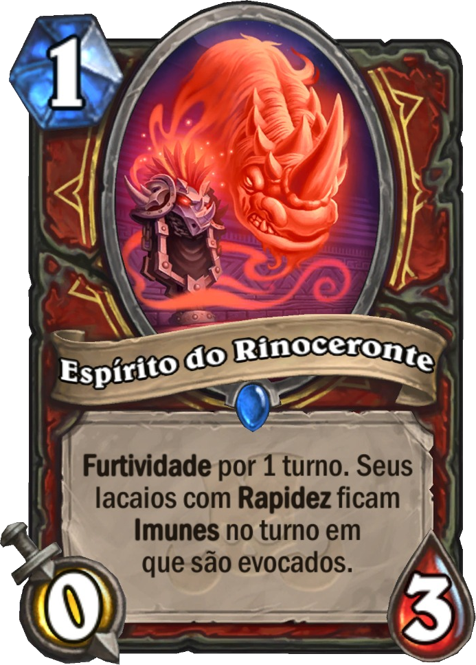 Espírito do Rinoceronte Card Reveal
